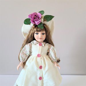 Vintage Collector's Choice Porcelain Doll.